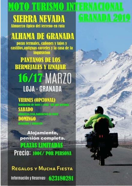 MOTO TURISMO INTERNACIONAL GRANADA 2019