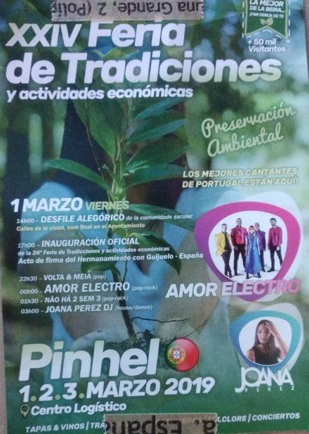 XXIV FEIRA DE TRADICIONES y actividades económicas en PINHEL