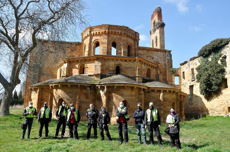 RUTA de la Orden Mesepera al Monasterio de Santa María de Moreruela