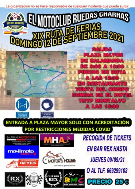 XIX RUTA DE FERIAS con RUEDAS CHARRAS